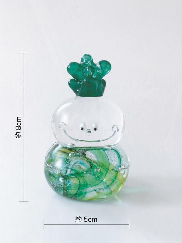 ガラスのモクモクフーが誕生しました。サムネイル
